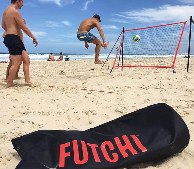 Futchi Portable Soccer Rebounder Set up Everywhere