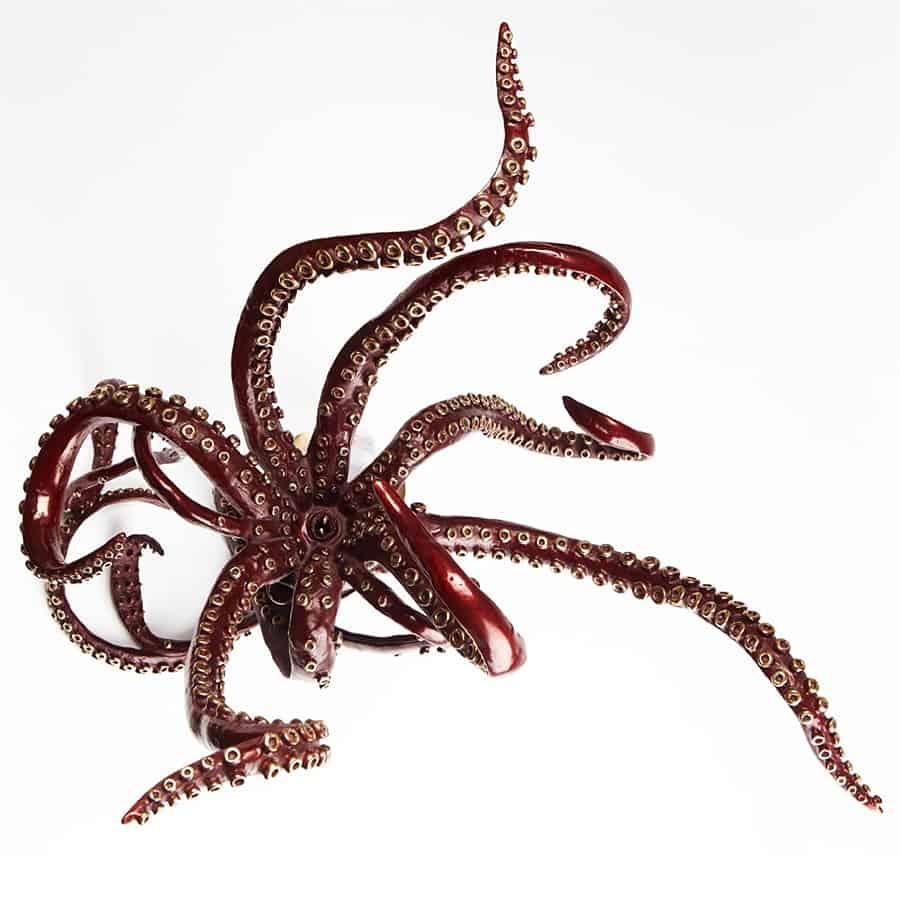 Kirk McGuire Sculpture Giant Bronze Squid Dining Table Handmade
