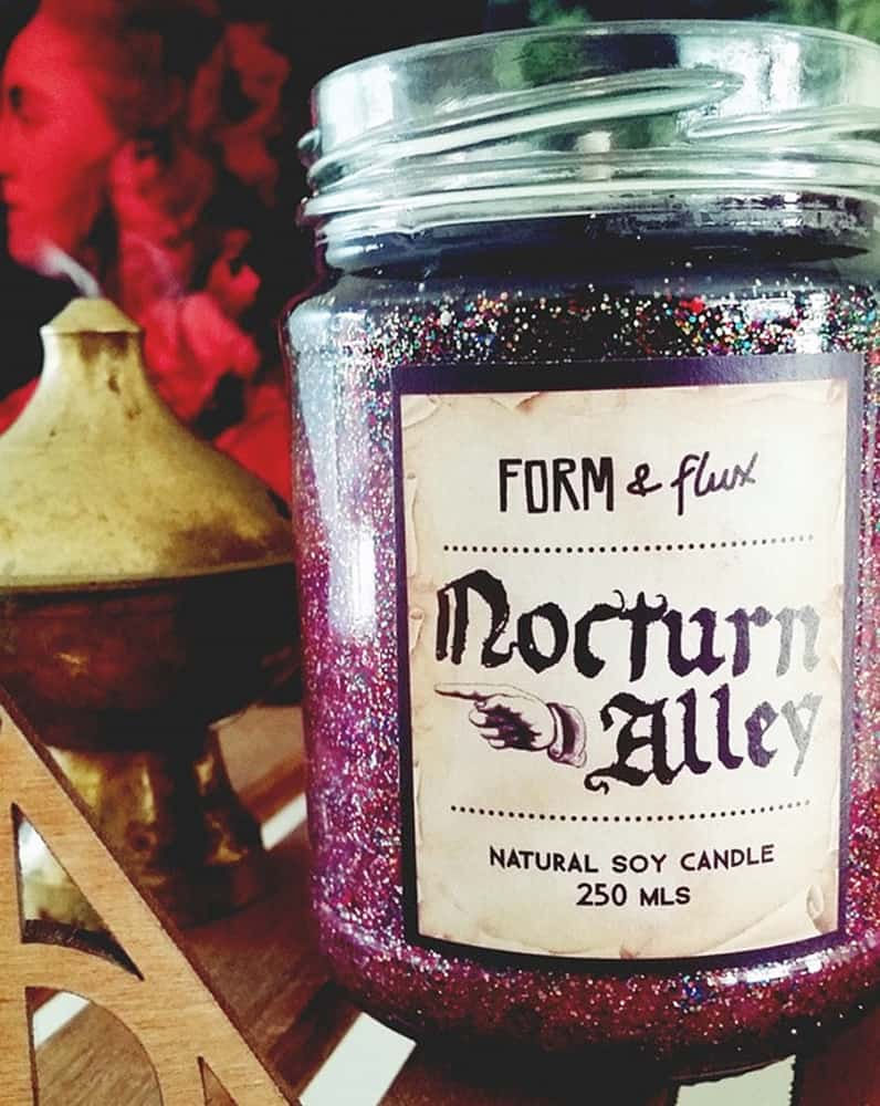 Lilly Tales Shop Nocturn Alley Soy Wax Candle Natural Soy Candle