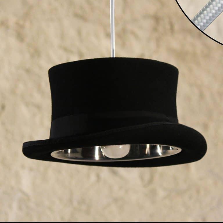 Mr. J Designs Prince Edward Top Hat Light 100 Percent Wool
