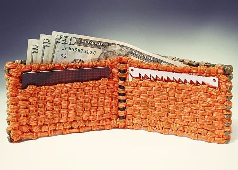 Para Wallets Survival Paracord Wallet Fits most Popular Survival Cards