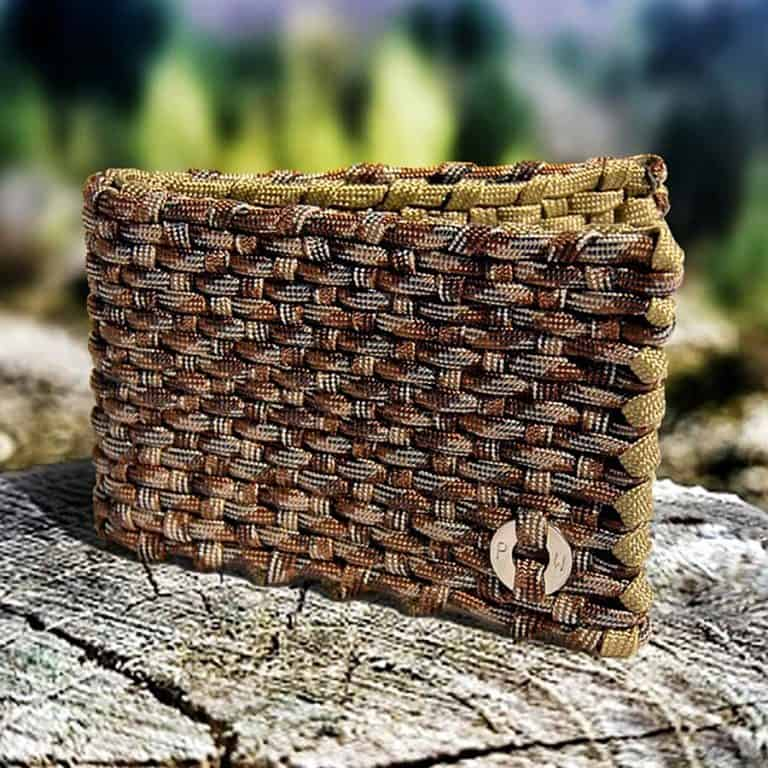 Para Wallets Survival Paracord Wallet Hand Crafted