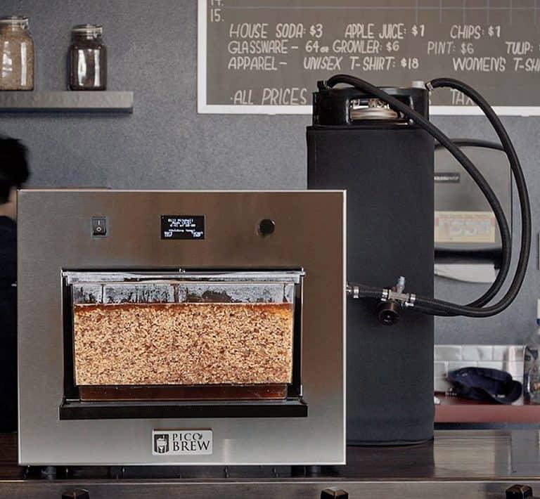 PicoBrew Zymatic Easy way to Brew