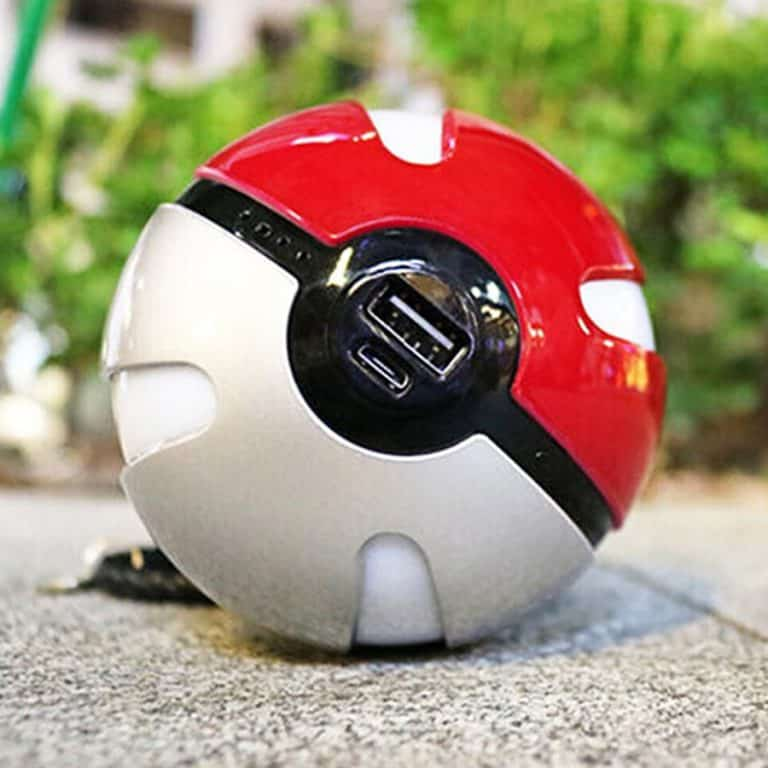 Pokeball Power Bank Novelty Item