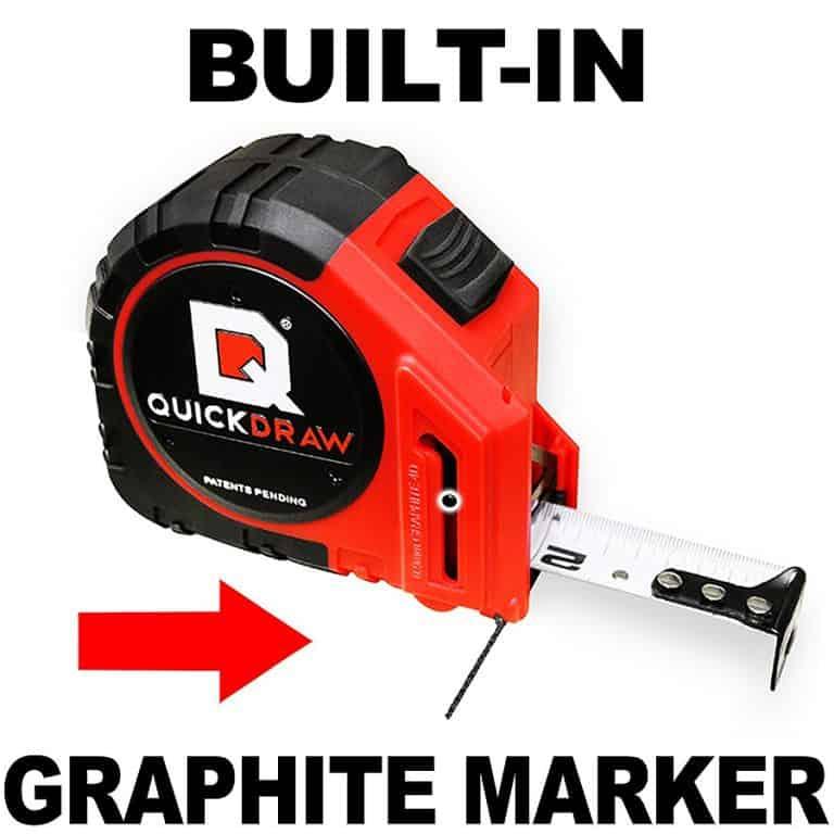 Quick Draw Pro Self Marking Tape Graphite Marker