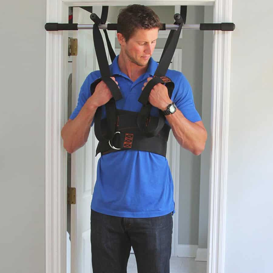 Sit and Decompress Ultimate Back Stretcher Spinal Decompression