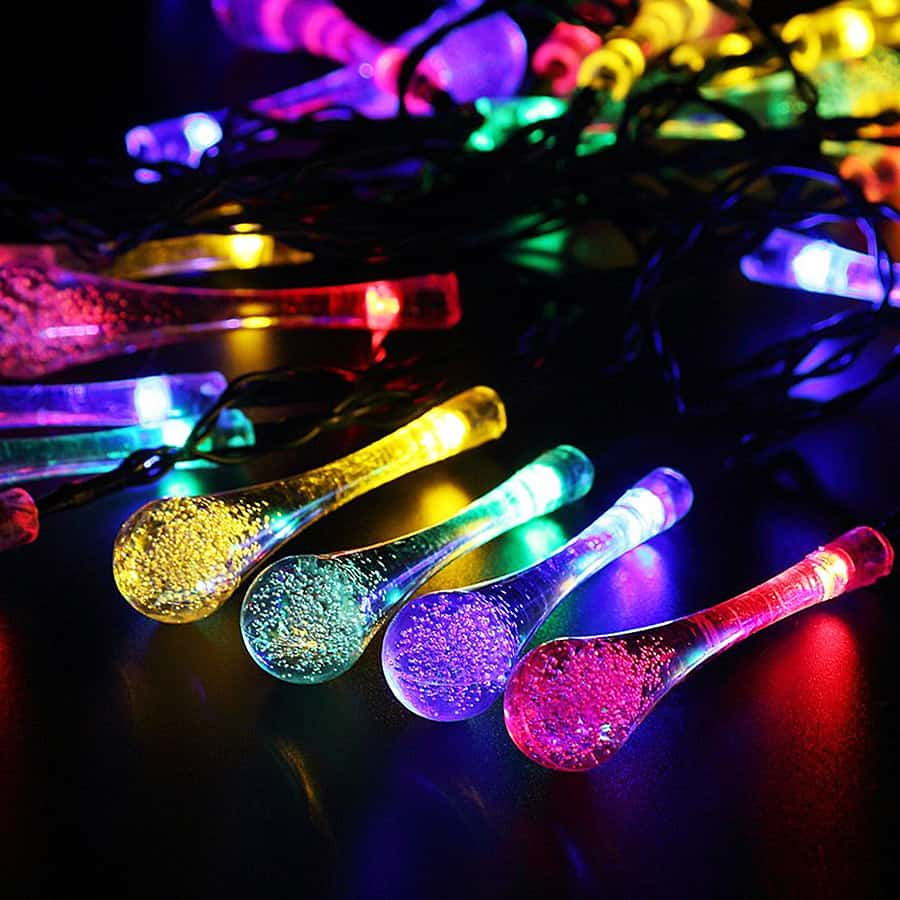 Solar Powered String Lights Waterproof