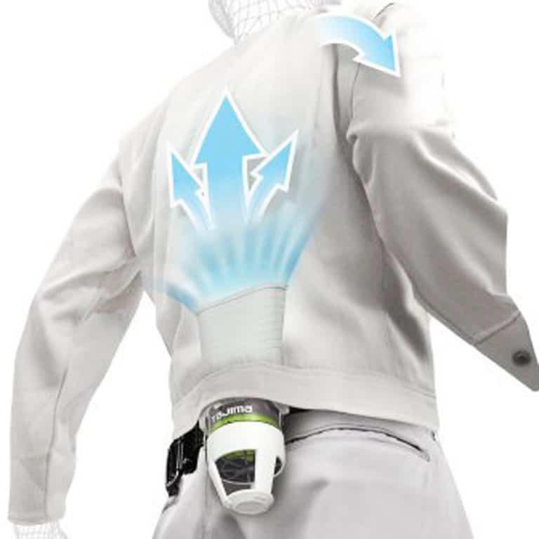Tajima Seiryo Jacket Cooling System Strong Clip-on