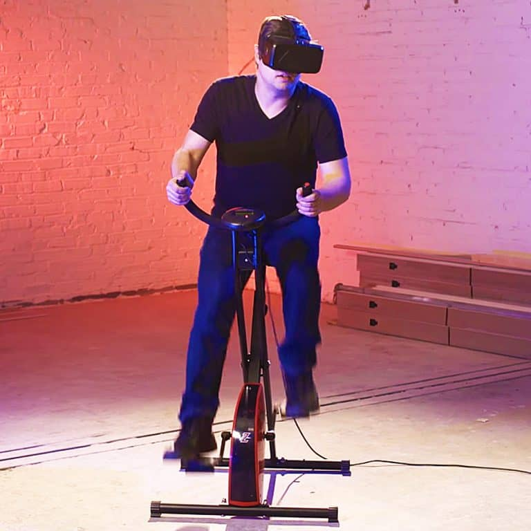 VirZOOM Virtual Reality Exercise Bike Fitness Item