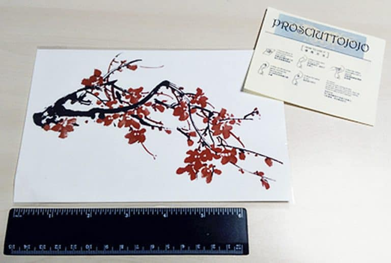 prosciuttojojo-red-plum-blossom-temporary-tattoo-non-toxic-ink
