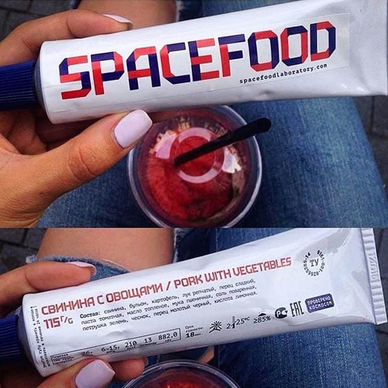 Space Food Laboratory Space Food Natural Ingredients
