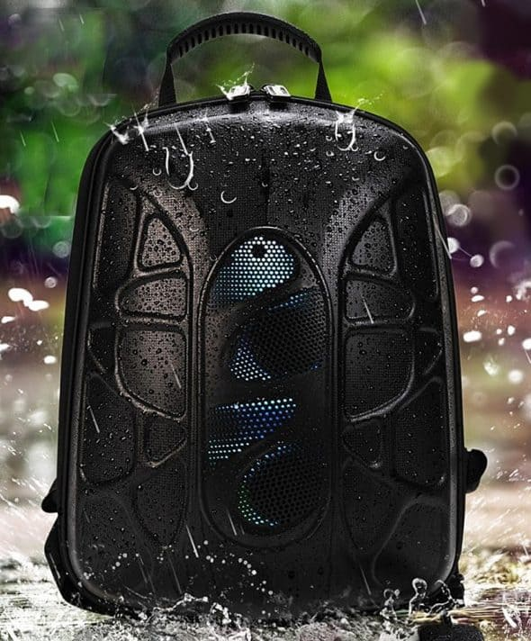 trakk-shell-waterproof-multi-function-bluetooth-speaker-backpack-hard-shell-material