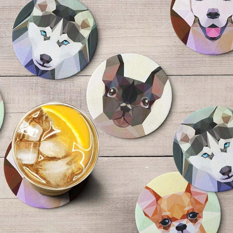 teide-shop-polygonal-dog-coaster-set-hardboard