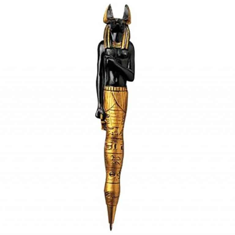 ancient-egyptian-sculptures-collectible-pens-anubis
