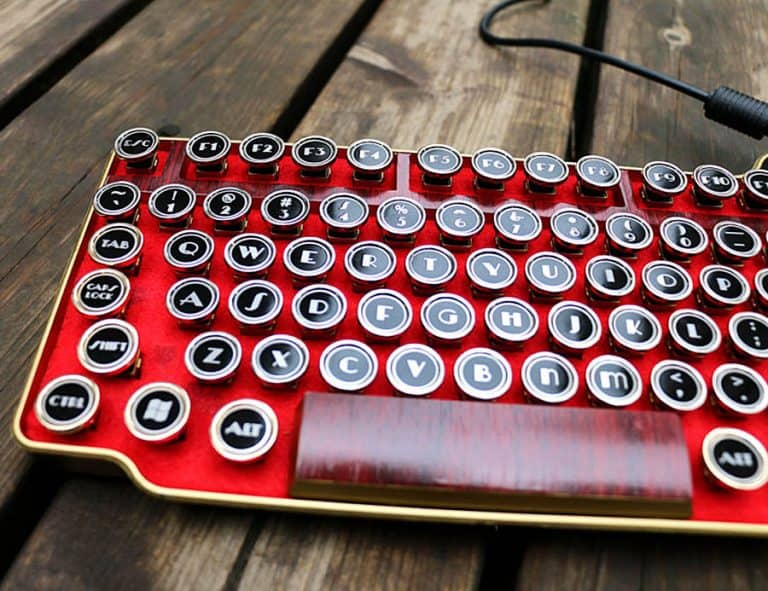 bing-hand-craft-red-steampunk-keyboard-built-in-smart-card-reader