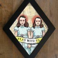 bwana-devil-diamond-framed-prints-the-shining-twins