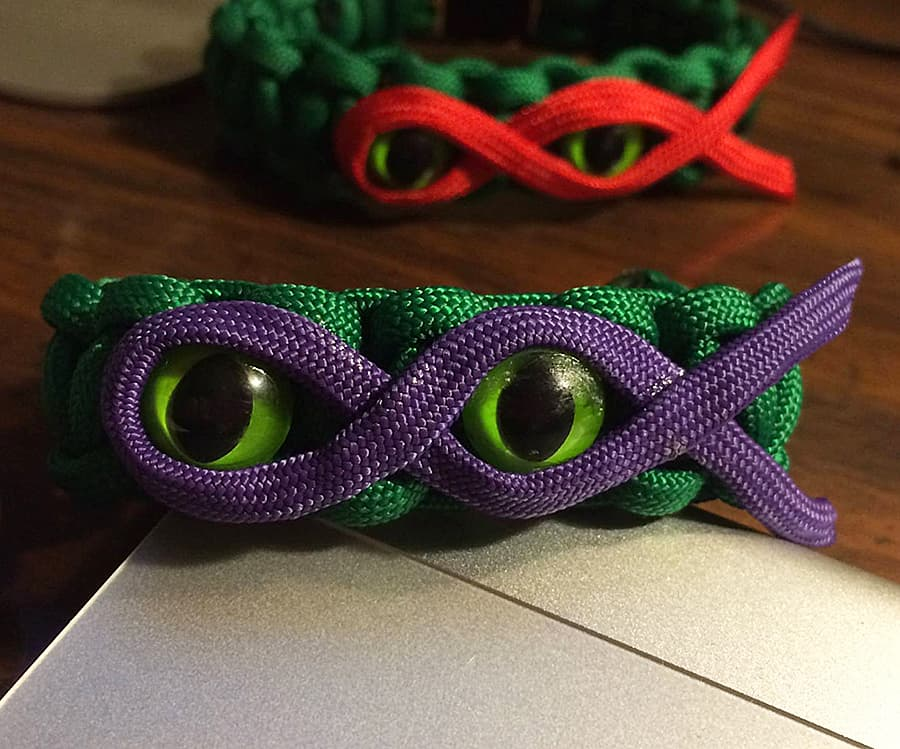Knot Kreations Teenage Mutant Ninja Turtles Paracord