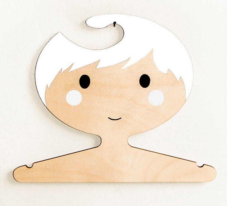 red-hand-gang-white-haired-boy-wooden-hanger-cute-novelty-item-jpg