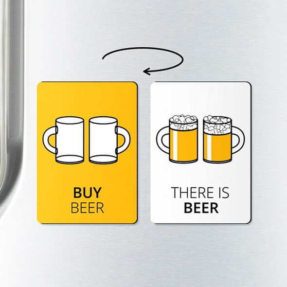 Because the cycle of beer drinking cannot be interrupted.