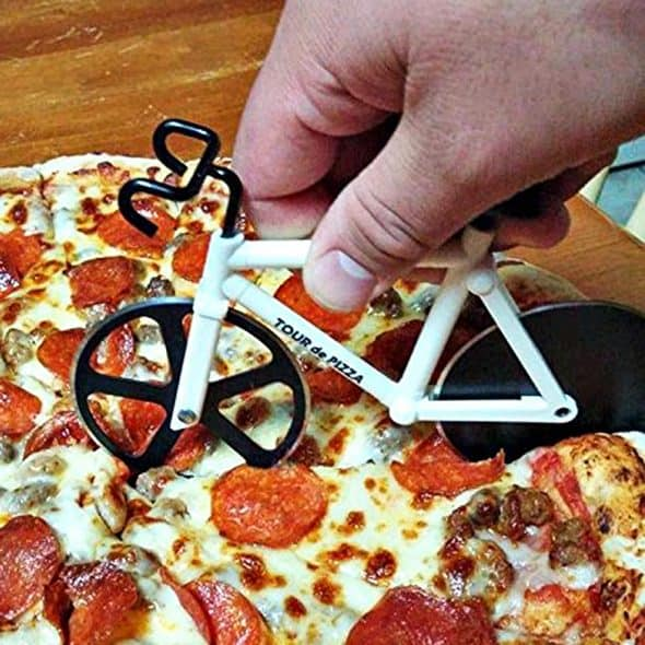 Ride for a perfect slice.