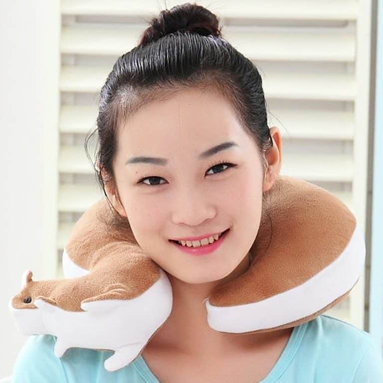 squirrel-travel-neck-pillow-comfortable