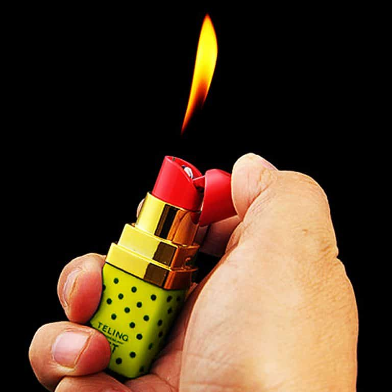 teling-set-lipstick-shaped-lighter-cigarette-lighters