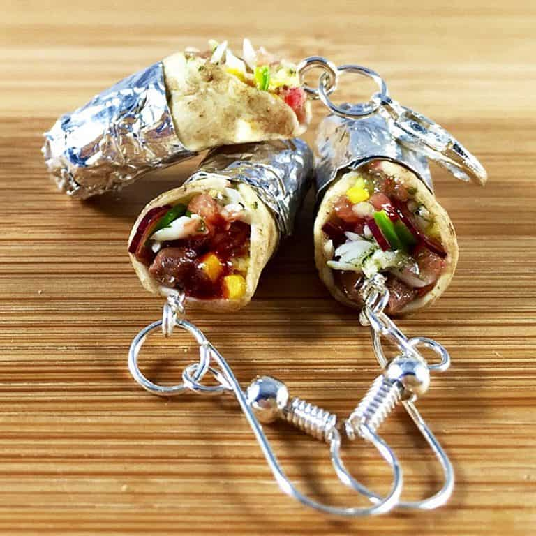 urtnrackys-burrito-earrings-hand-crafted