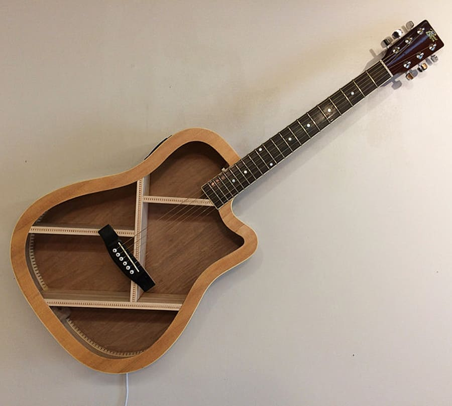 arrtstudios-guitar-shelf-recycled-acoustic-guitar