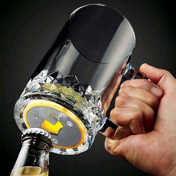 brookstone-pop-n-pour-beer-mug-with-opener-bottler-opener