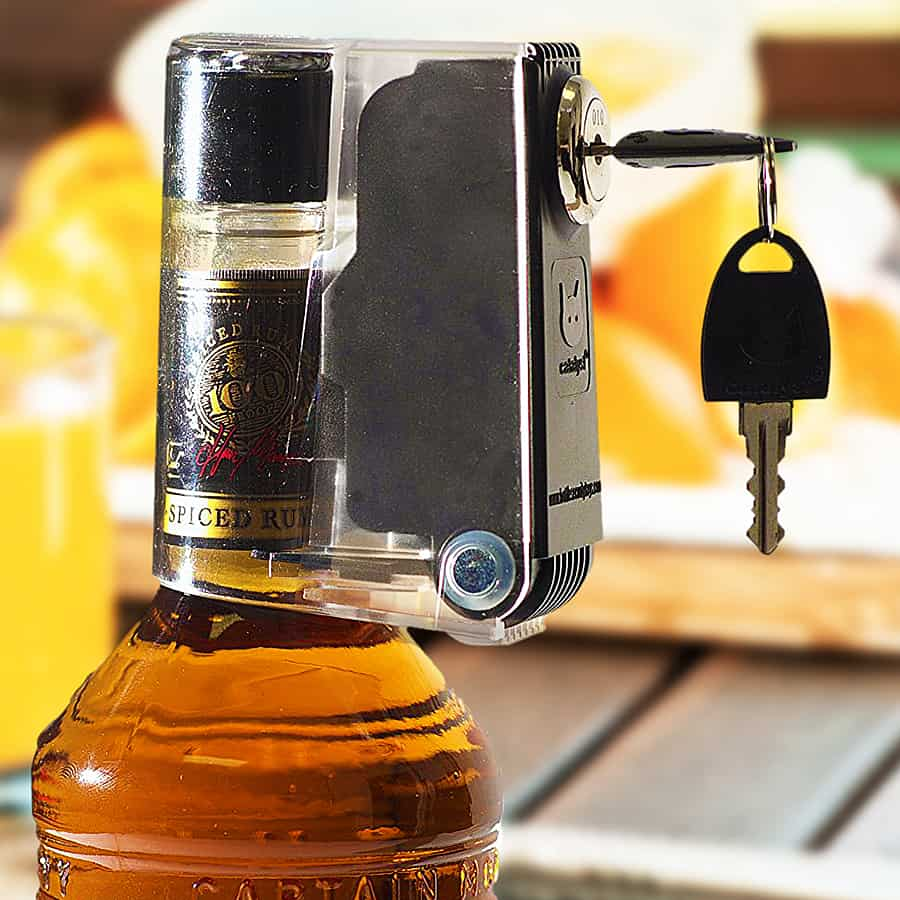 Keep your whiskey safe.