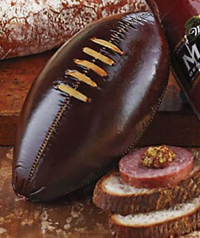 football-sausage-ground-meat