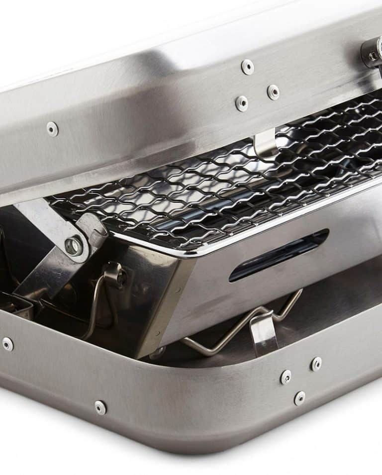 kikkerland-portable-bbq-suitcase-high-grade-stainless-steel