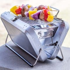 Grill on the go.