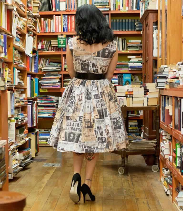 sarsparilly-50s-style-wizard-headlines-cotton-dress-full-skirt