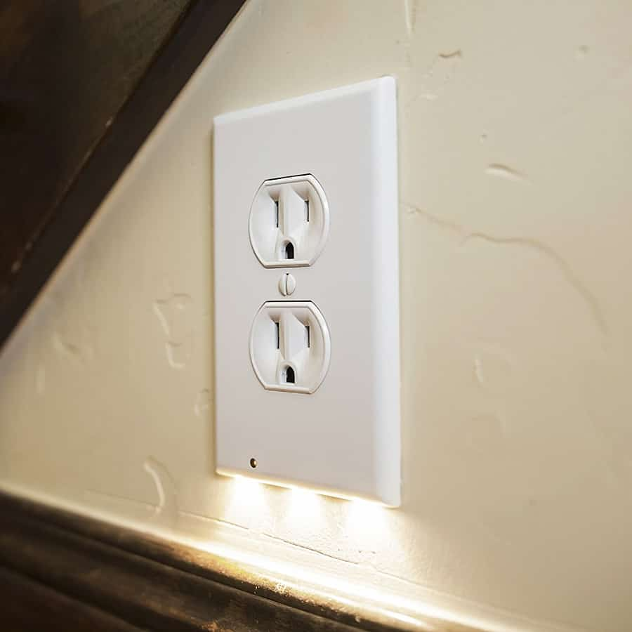 Lighting the darkness while freeing your outlets.