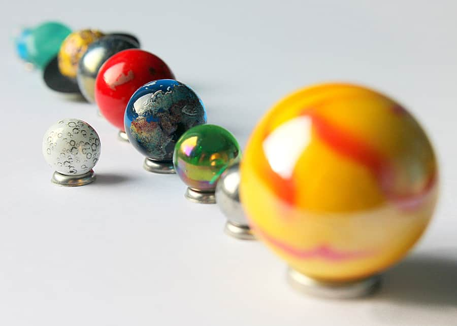 west-end-collectables-solar-system-orrery-globe-marble-collection-collectors-item