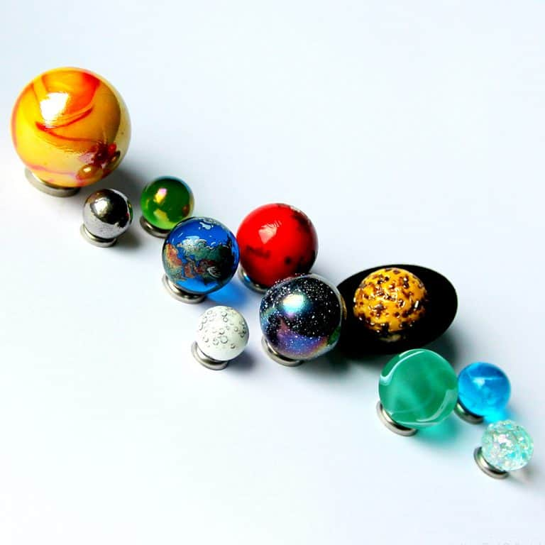 west-end-collectables-solar-system-orrery-globe-marble-collection-hand-crafted-space-set