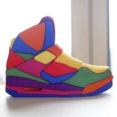 Shoe in for fun.