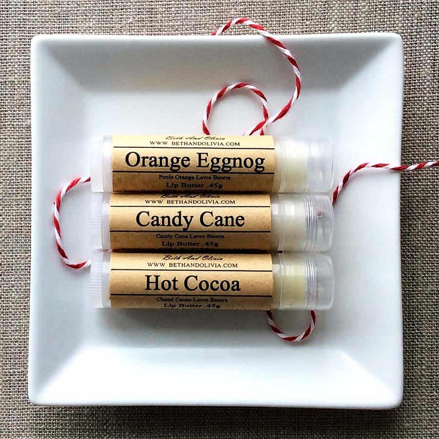 Christmas on your lips.