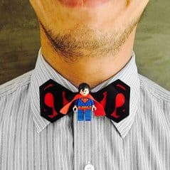 Bow tie of steel.
