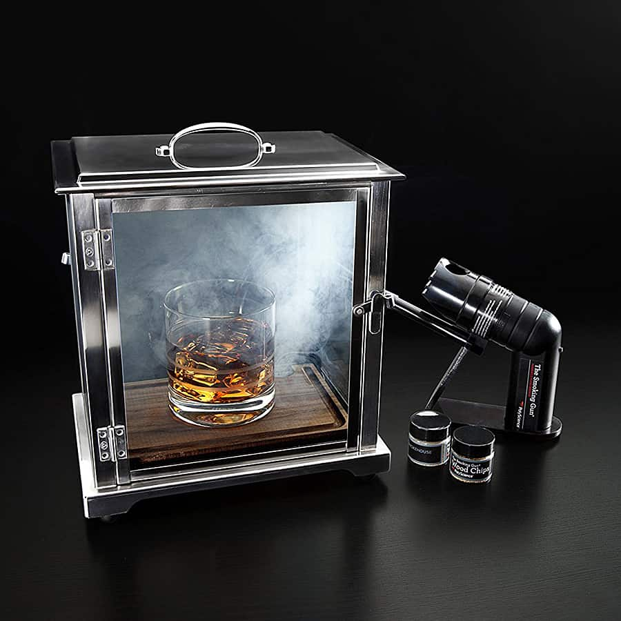 That's one smoking cocktail!