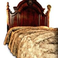 Fur Accents Plush Luxury Faux Fur Bedding Noveltystreet