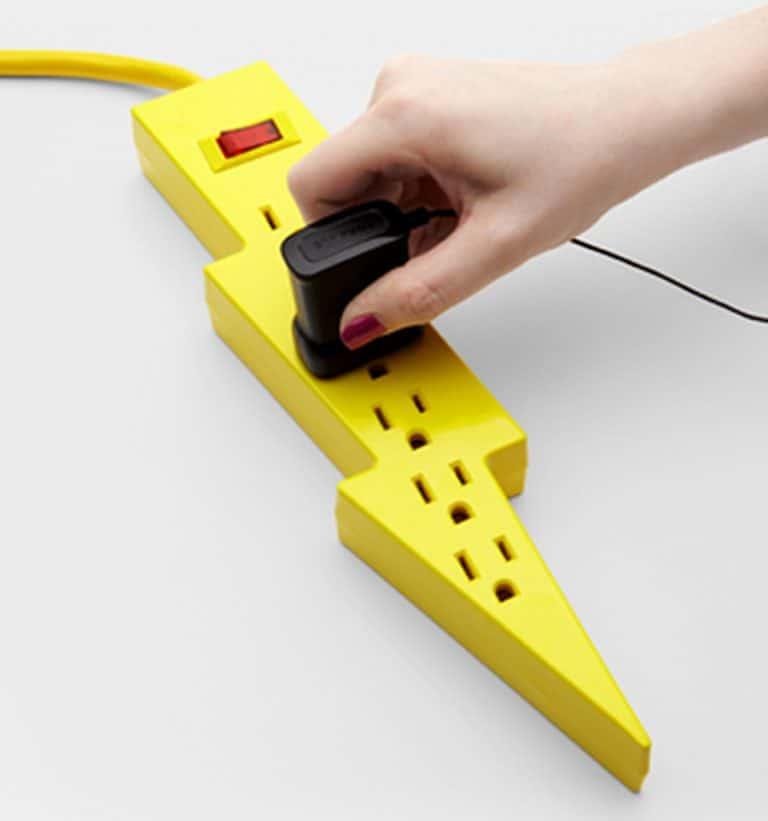 kikkerland-bolt-power-strip-electrical-item