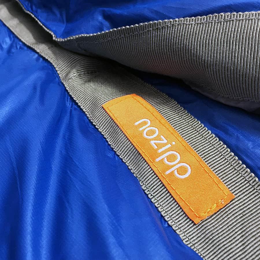 NOZIPP 15F Ultralight Zipperless Sleeping Bag