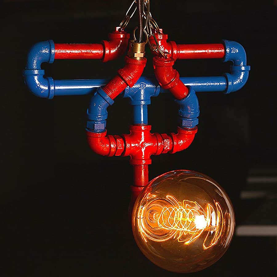 Spiderman Industrial Lamp
