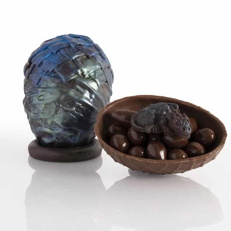 The Truffle Cottage Game of Thrones Dragon Egg Dark Chocolate