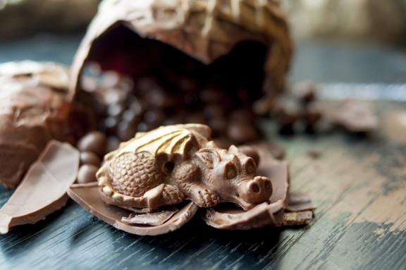 The Truffle Cottage Game of Thrones Dragon Egg Milk Chocolate