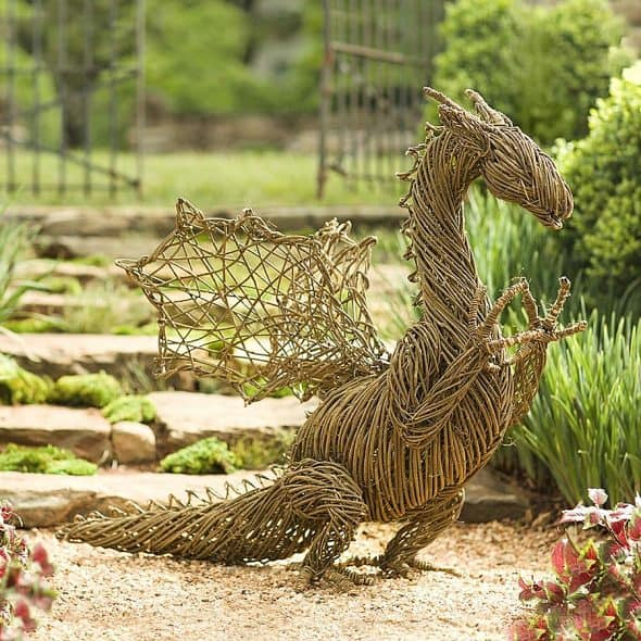 Your garden is missing a dragon.