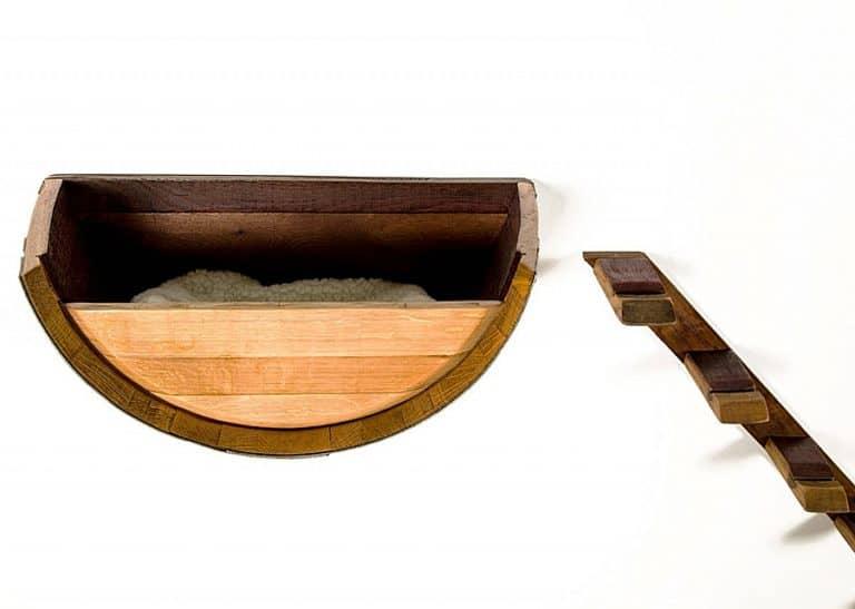 wine-country-craftsman-birala-wine-barrel-cat-bed-wall-mounted