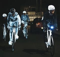 Be safe and be seen.